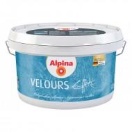 Alpina Effekt Velours - Декоративная шпатлевка с эффектом бархата и велюра, 1.25л, Германия