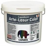 Caparol Arte Lasur Color - Колеруемая лазурь с цветными частичками, Германия, 2.5л.
