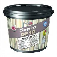 Sopro DF 10 Design Fuga Flex - Эластичная фуга для плитки с толщиной шва 1-10мм, 5кг, Польша