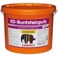 Capatect KD bundsteinputz - Мозаичная штукатурка для цоколя, 25 кг. Австрия