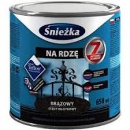 Sniezka Na rdze - Эмаль для металла, цвета в ассортименте, 0.65л, Польша