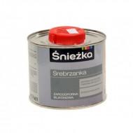Sniezka Srebrzanka - Силиконовая жаростойкая серебряная краска, 0.2-0.5 литра, Польша