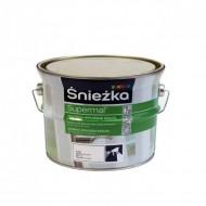 Sniezka Supermal - Масляно-фталевая эмаль для металла и дерева, белая матовая/глянцевая, 0.4-5 литров, Польша