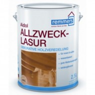 Remmers Aidol Allzweck Lasur - Тонирующая шелковисто-матовая лазурь на водной основе, для внутренних работ, 0,75 - 20л, Германия