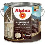 Alpina Грунтовка для дерева - Защитная грунтовка для необработанной древесины для наружных работ,  0.75-10л, Германия