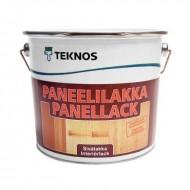 Teknos Panellack (Paneelilakka) - Лак на водной основе для дерева внутри помещения, 0.9-9 литров, Финляндия