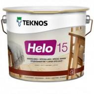 Teknos Helo 15 matt - лак для дерева уретано-алкидный , матовый, 0.9-9 литров, Финляндия