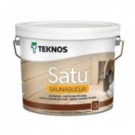 Teknos Sauna Natura ( Satu Saunasuoja) - Защитное средство для сауны, 0.9-9 литров, Финляндия