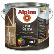 Alpina Лазурь для дерева - лазурь для древесины, для внутренних и наружных работ, в ассортименте, 0.75-10л,Германия