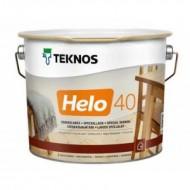 Teknos Helo 40 Semigloss - Полуглянцевый, уретано-алкидный лак для дерева, 0.9-9 литров, Финляндия