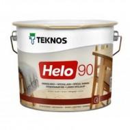 Teknos Helo 90 Gloss - глянцевый лак для дерева, 0.9-9 литров, Финляндия