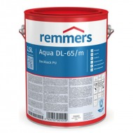 Remmers Aqua DL-65-Decklack PU - акриловая краска для деревянных окон и дверей, 0,75-2,5л, Германия