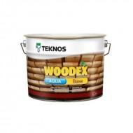 Teknos Woodex Aqua Base - Грунтовочный антисептик от гниения, синевы и плесени для дерева, на водной основе, 1-10 литров, Финляндия