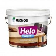 Teknos Helo Aqua 20 Semimatt - Полиуретановый водоразбавляемый лак для дерева, полумат, 0.9-9 литров, Финляндия
