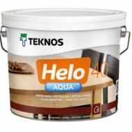Teknos Helo Aqua 40 Semigloss - Водноразбавимый, полиуретановый лак для дерева, полуглянец, 0.9-9 литров, Финляндия