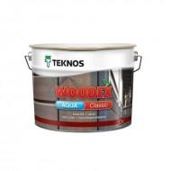 Teknos Woodex aqua classic - Колеруемая лазурь-антисептик на масляной основе, 0.9-9 литров, Финляндия