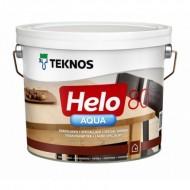 Teknos Helo Aqua 80 Gloss - Полиуретановый водоразбавляемый лак для дерева, глянец, 0.9-9 литров, Финляндия