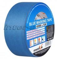 Малярная лента Motive Blue Masking Tape синяя, ПРОФ, 25-48мм*50м, в ассортименте, Польша