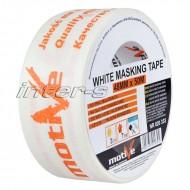 Малярная лента Motive White Masking Tape белая, размер 30-48мм *50м, в ассортименте, Польша