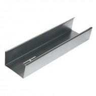 Профиль для гипсокартона стоечный CW 50*50*3000мм, металл 0.45, 0.5, 0.6мм в ассортименте, Ю-мет, РФ