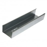 Профиль для гипсокартона стоечный CW 100*50*3000мм, металл 0.45, 0.5, 0.6мм в ассортименте, Ю-мет, РФ