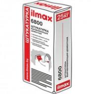 Ilmax 6800 (6800 М) - Выравнивающая цементная штукатурка, от 5 до 20мм, летняя/зимняя, 25кг, Беларусь