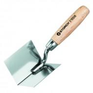 Storch Edelstahl Eckenkelle - Угловой шпатель для выравнивания внутренних углов, 80*60*60 мм, Германия