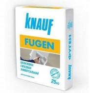 Knauf Fugen - Шпатлевка гипсовая для стыков и швов на гипсокартоне, 10-25кг, Россия