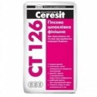 Ceresit CT 126 - Шпатлевка гипсовая, белая для внутренних работ, 20 кг, Беларусь