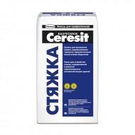 Ceresit Стяжка - Сухая смесь для устройства стяжек, толщина слоя 30-100мм, 25 кг, Беларусь
