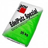 "Baumit EdelPutz Spezial Natur, Kratz - Декоративная штукатурка, ""Барашек 2мм"", 25 кг серая, Беларусь"