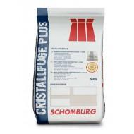 Фуга антибактериальная для плитки CRISTALLFUGE Plus, 5кг Германия