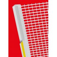 Профиль примыкания пластиковый  с пыльником и сеткой, 6 и 9мм, длинна 2.4м Россия