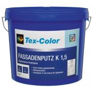 Tex-Color KH-Edelputz - Акриловая штукатурка для наружных и внутренних работ камешковая 1.5, 2 и 3мм с равномерношераховатой структурой, 25кг.