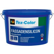 Tex-Color Fassadensilicon - Силиконовая фасадная краска высшего качества, белая 15л.