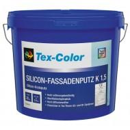Tex-Color Silicon-Fassadenputz - штукатурка  фасадная декоративная, силиконовая, размер зерна 1.5, 2 ,3мм., 25кг