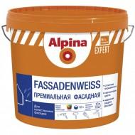 Alpina Expert Fassadenweiss B.3 - Премиальная фасадная краска, прозрачная, 9.4 л
