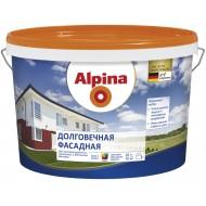 Alpina Долговечная фасадная B.3 - Акриловая прозрачная краска для наружных работ, 9.4 л