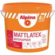 Alpina Expert Mattlatex - Матовая, износостойкая интерьерная краска, 15л, Беларусь