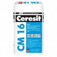 Ceresit CM 16 -  клей для плитки усилинной фиксации, 25 кг, РБ
