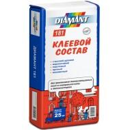 Diamant 181 (Диамант 181) - Клей для приклеивания утеплителя, летний и зимний 25кг, Беларусь