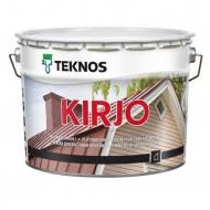 Teknos Kirjo B.3 - Краска для листовой стали, кровли, база 3, прозрачная, 0.9-9, Финляндия
