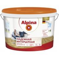 Alpina Надежная интерьерная - Матовая универсальная белая краска, 5 л