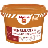 Alpina Expert Premiumlatex 3 B.3 - Премиальная глубокоматовая интерьерная краска, прозрачная, 2.35 л, Беларусь