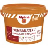 Alpina Expert Premiumlatex 7 B.3 - Премиальная, шелковисто-матовая интерьерная краска, прозрачная,  2,35 л