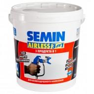 Semin Airless - готовая к применению шпатлевка для безвоздушного нанесения, до 3-х мм, 25 кг, Россия