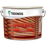 Teknos Woodex classic - Колеруемая лазурь-антисептик на алкидной основе, 0.9-9 литров, Финляндия