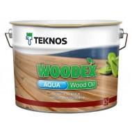 Teknos Woodex Aqua Wood oil - Колеруемое масло для дерева, на натуральной основе, 0.9-9 литров, Финляндия