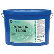 Tex-Color Fassadensilicon база 1 - Силиконовая фасадная краска высшего качества для светлых и средних тонов, 15л.