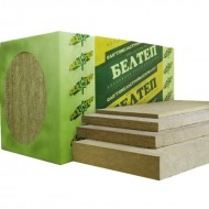 Белтеп Фасад -Базальтовый утеплитель для фасадов, 110 кг/м3, толщина 50-150мм, Беларусь